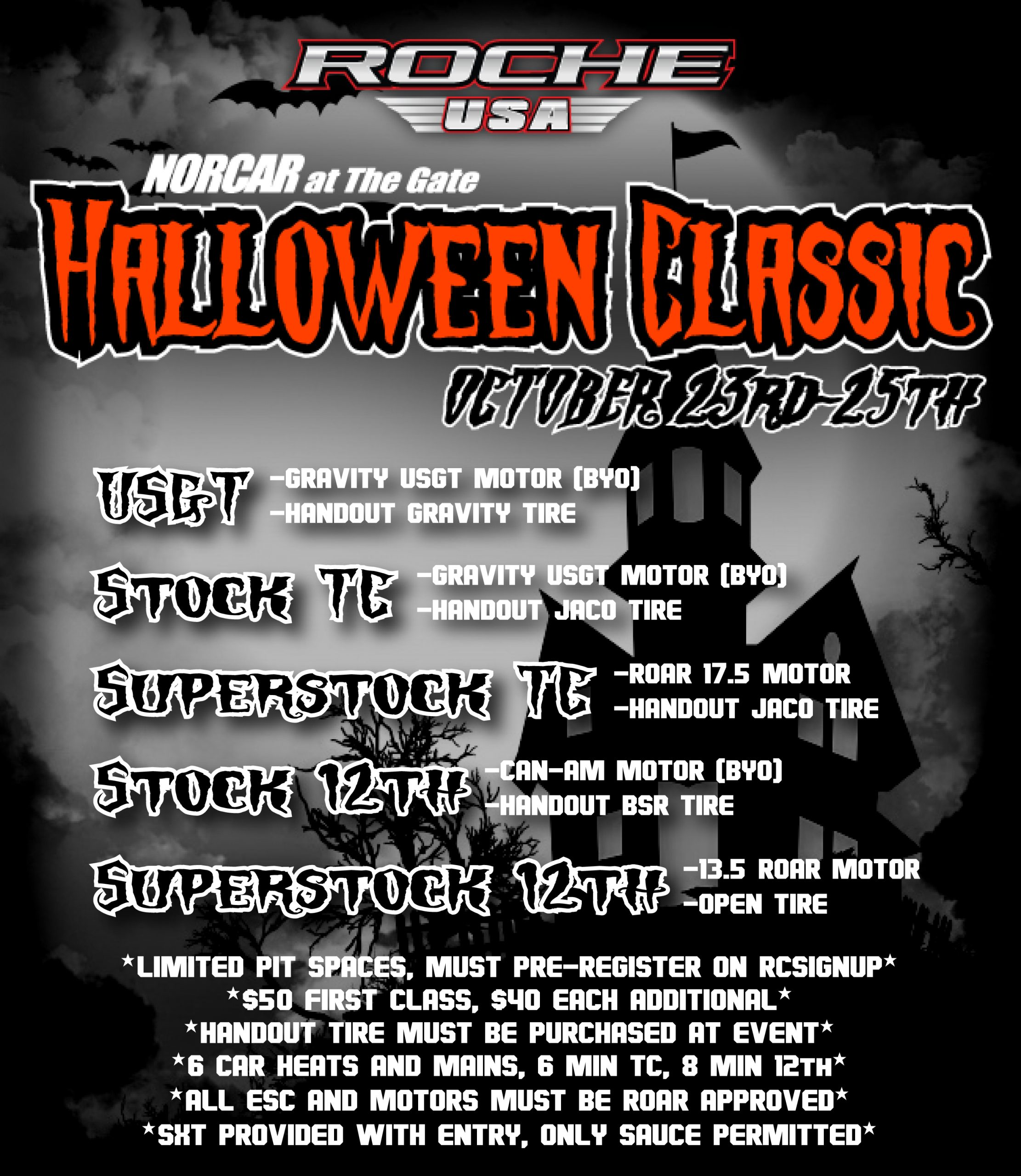 2020 Halloween Classic At The Gate NORCAR Racing – R/C Racing at The Gate